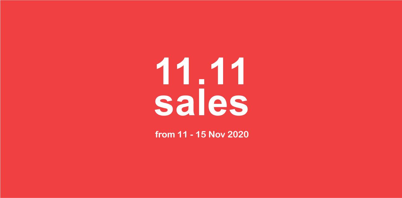 11.11 Sales