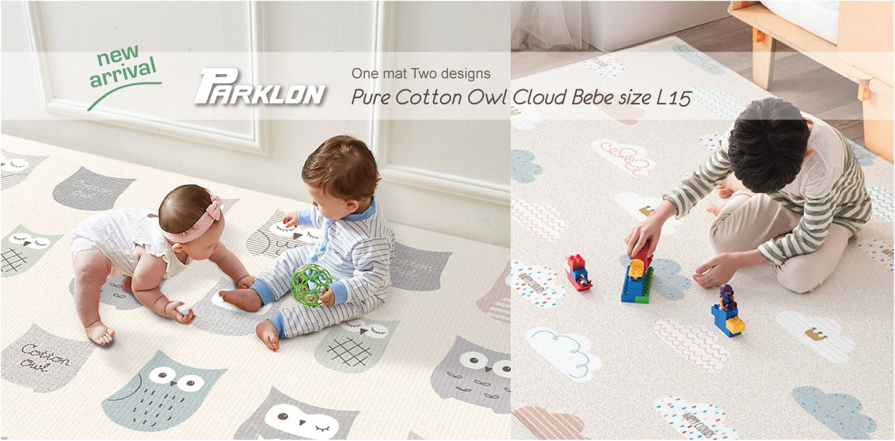 PURE Cotton Owl Cloud Bebe L15